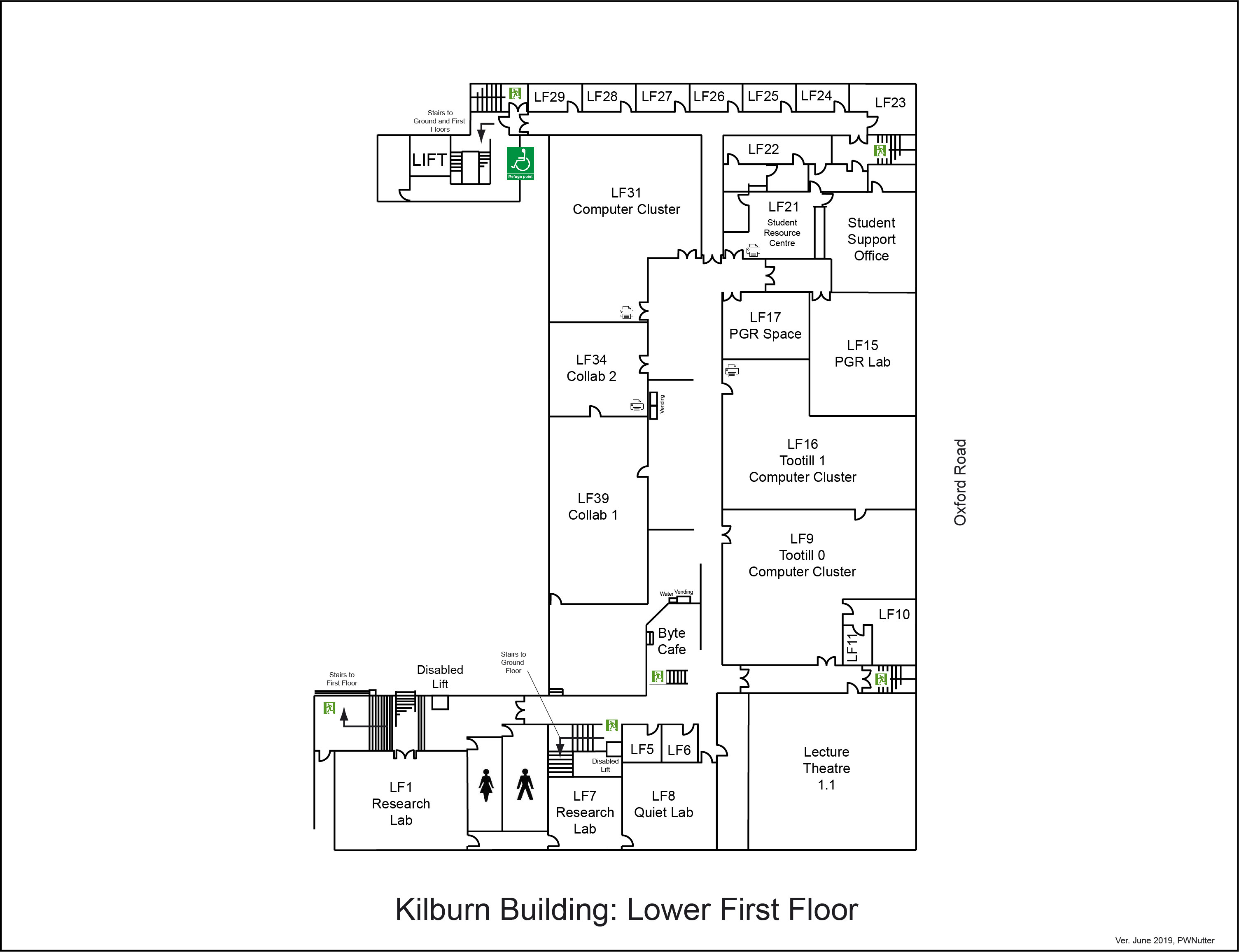 Floorplans (School of Computer Science - The University of Manchester)